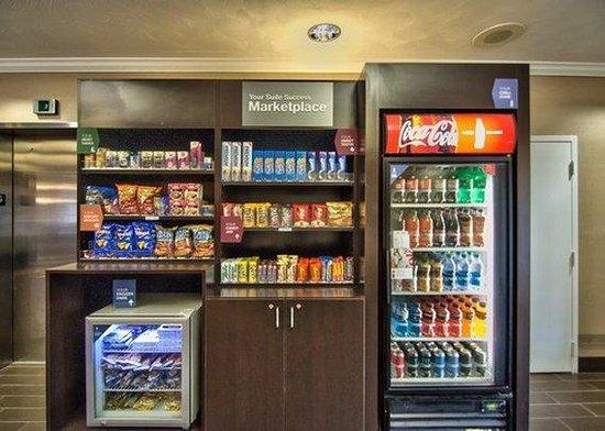 Comfort Suites: Snack Area