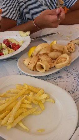 Taverna Katina : calamari fritti