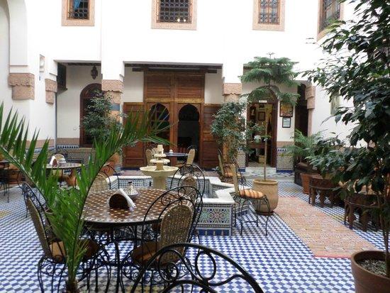 Riad Ahlam : Hotel lobby