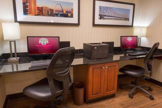 Drury Inn & Suites St. Louis Southwest: Business Center