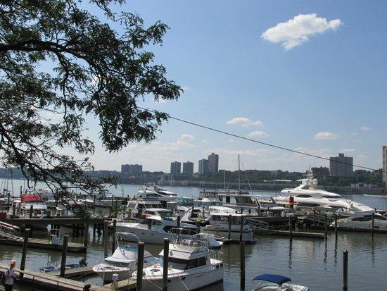 Boat Basin Cafe: vista sul porto dalla terrazza