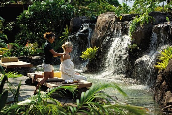 Four Seasons Resort Hualalai: Spa Relaxation Area