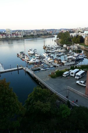 WorldMark Victoria: Looking out from my 8th floor suit