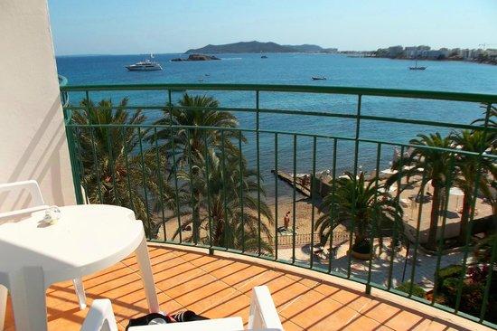 Hotel Playasol Maritimo : balcon de habitacion