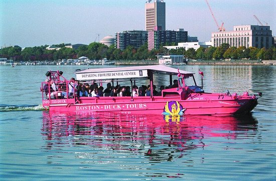Holiday Inn Boston-Bunker Hill: Enjoy a fun tour of Boston on a Duck Tour on the Charles River.