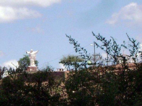 Cuyo, อาร์เจนตินา: Cristo de los llanos desde abajo. Olta. La Rioja