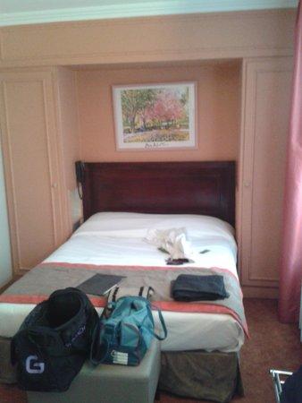 Hotel Edouard VI: la chambre