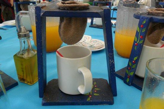 RESTAURANTE LA CASONA DEL CAFETAL: O café feito na hora