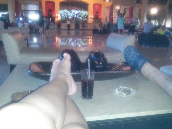 Caribe Club Princess Beach Resort & Spa : lobby