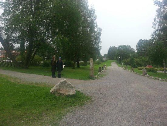 Taby, Sweden: The rune causeway