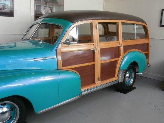 LeMay Museum at Marymount: Woody Wagon