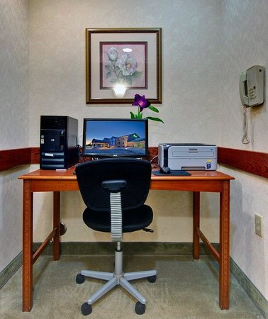 Holiday Inn Express Cadillac : Business Center