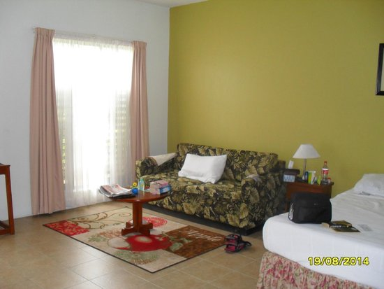 BEST WESTERN Hexagon International Hotel, Villas & Spa : lounge area