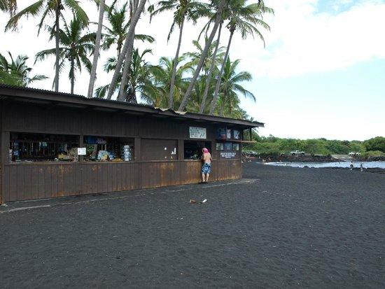 Punaluu Black Sand Beach : Refreshments