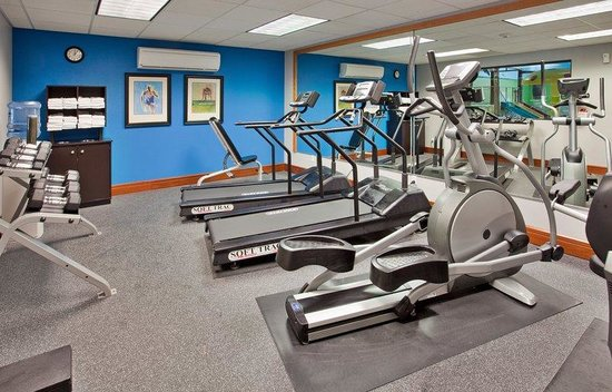 Holiday Inn Express Fremont: Travel Is No Reason To Miss A Workout