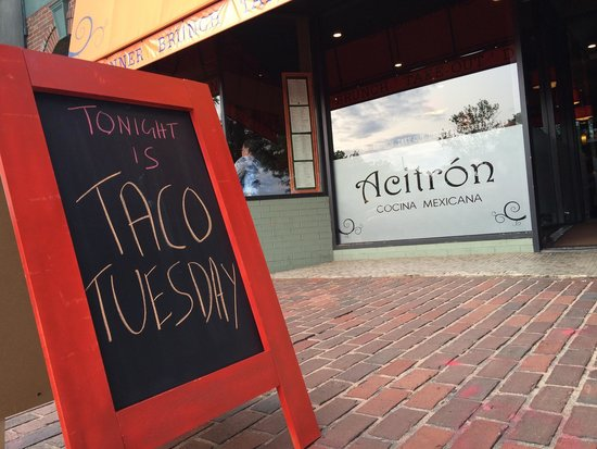 Acitron Cocina Mexicana: Taco Tuesday. All you can eat Tacos. Choose from 10 different delicious fillings. $3 each.