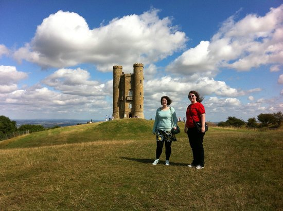 "Cotswold Tours by Fowler Tours: And a tower ""folly"" that gives a great view of the area."