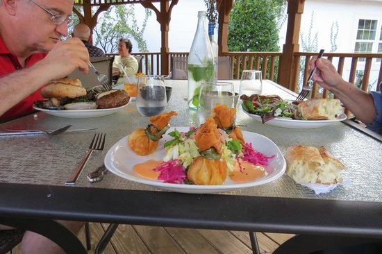 Chez Dupont and The Stone Soup Cafe: Crab Croquettes