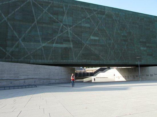 Museo de la Memoria y los Derechos Humanos (Museum der Erinnerung und der Menschenrechte): Fachada del Museo de la Memoria