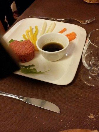 Trattoria Boccon di Vino: tartare di carne
