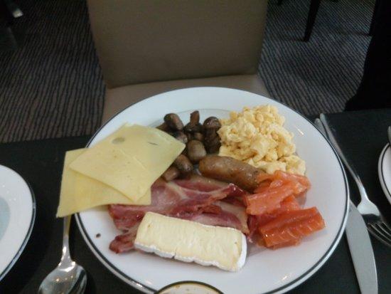 Grange Tower Bridge Hotel : piatto colazione