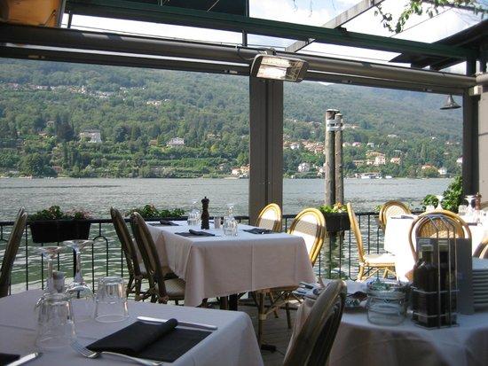 Grand Hotel Cadenabbia: Views from the dining room.