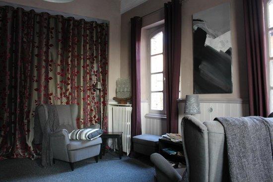 Hotel Restaurant du Pont Napoleon : Petit salon