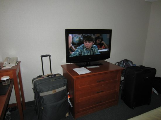 Holiday Inn Halifax Harbourview : TV
