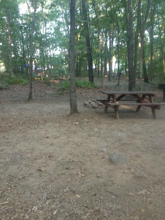 Mystic KOA: Our campsite