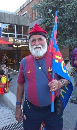 Camp Nou: El fan de FC Barcelona!!