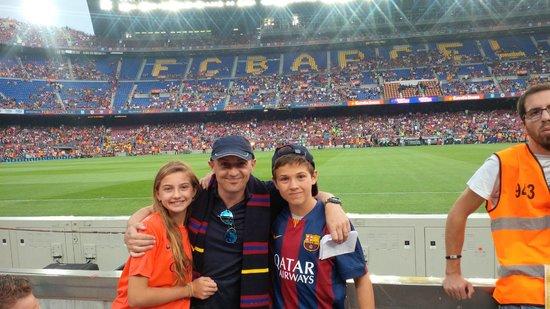 Camp Nou: Barca Leon