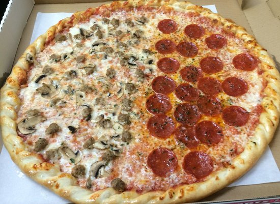 Pizza on 87: Hand Tossed Pizzas mmmm