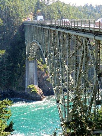 Deception Pass State Park: Bridge detail