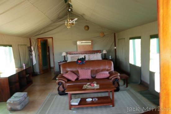 Bomani Tented Lodge: Roughing it in style