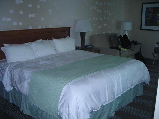Radisson Hotel & Suites Fallsview : amplia cama