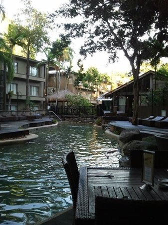 Ramada Resort Port Douglas: Dining beside the pool