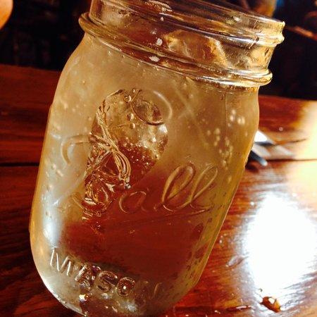 Shovel Handle Pub: Mason Jar glasses