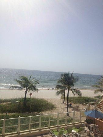 Windjammer Resort : Balcony view