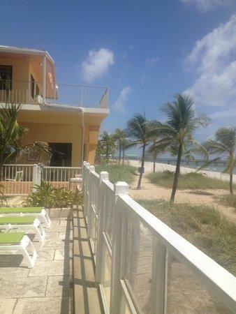 Windjammer Resort : Pool side view
