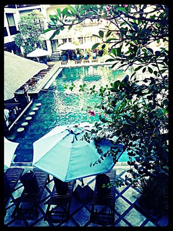 The Lokha Legian: view from our room.