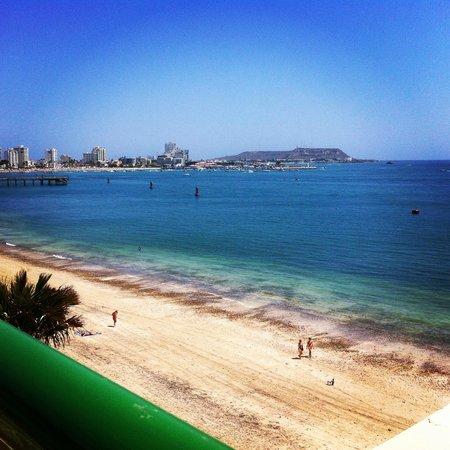 Barcelo Salinas: vista desde la piscina
