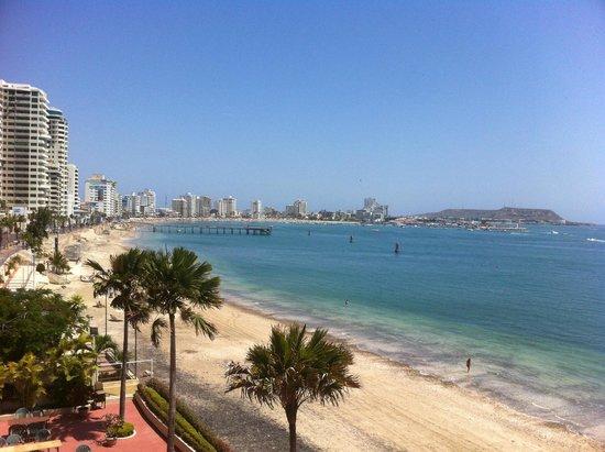 Barcelo Colon Miramar: playa salinas