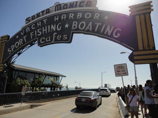 Santa Monica Bay: La entrada