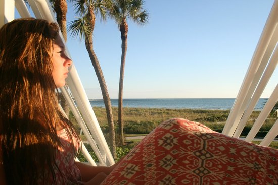 Resort at Longboat Key Club: watching the sunset