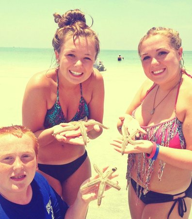 Resort at Longboat Key Club : found some starfish