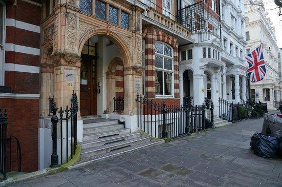Astor Hyde Park Hostel : Fachada