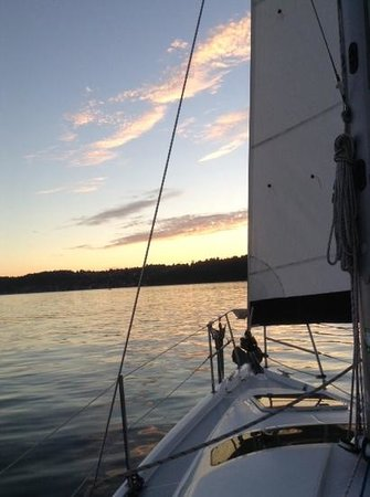 Sunshine Kayaking: sunset sailing cruise
