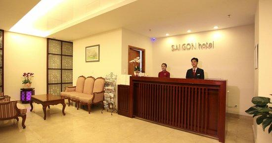 Saigon Hotel: Receiption Area