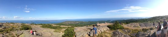 Mount Desert Island: Cadillac Mountain view