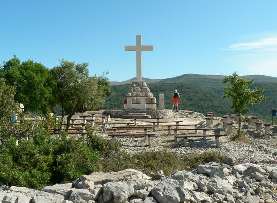 Stari Grad, Kroatia: Top of Glavica hill